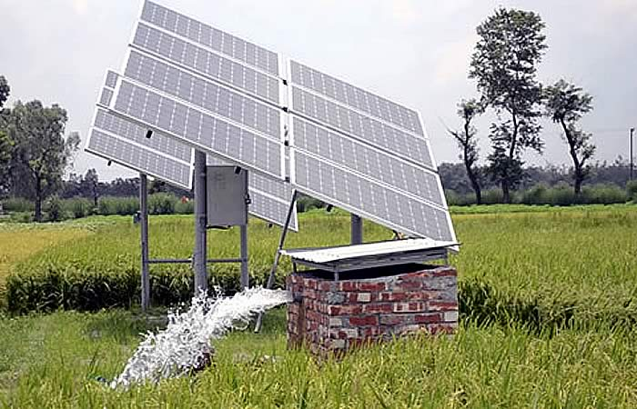 Bomba solar para pozos