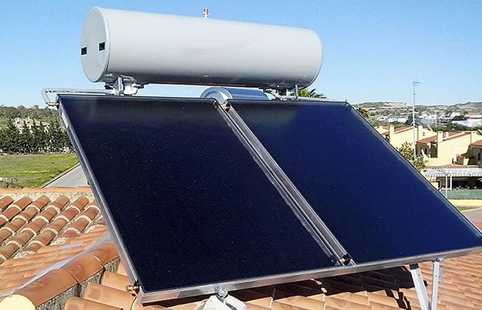 Placas Solares para calentar Agua doméstica
