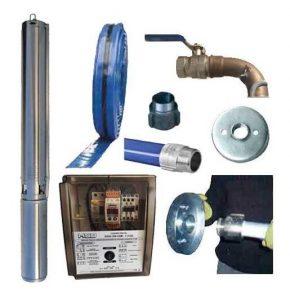 kit bomba sumergible para pozos