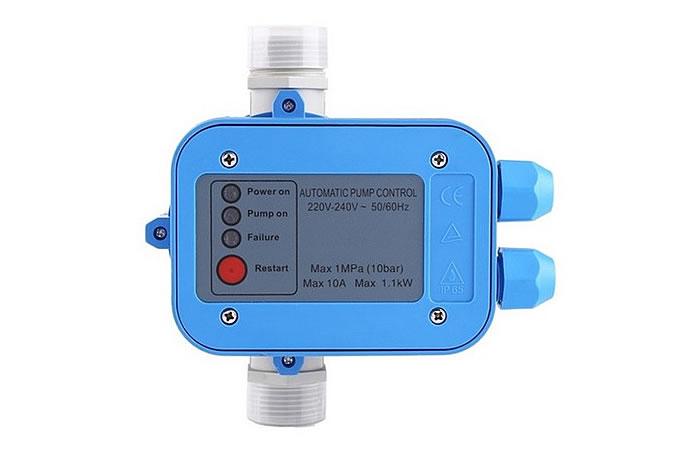Manómetro o controlador de presión de agua