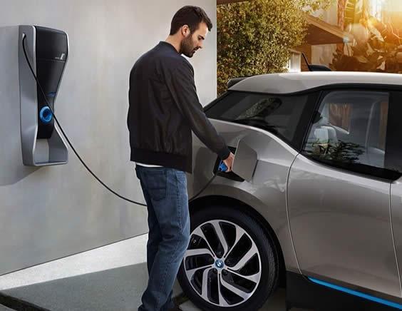instalación punto recarga vehículos eléctricos