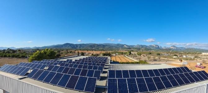 Can Soler, instalación placas solares