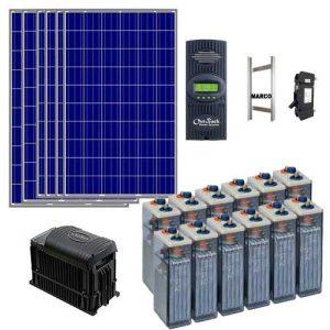 kit solar para vivienda habitual sin generador