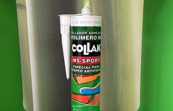 cartucho sellador adhesivo polímero césped artificial