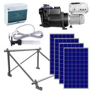 kit bomba de agua solar para piscinas psh comfort mini solar depuración electrolisis salina