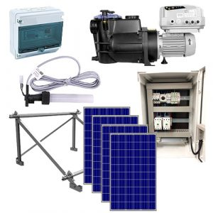 kit bomba de agua solar red para piscinas psh comfort mini solar depuración electrólisis salina