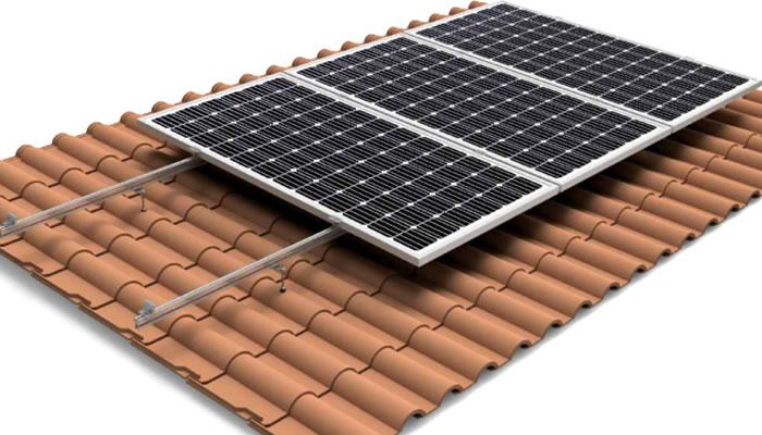estructura coplanar 01V paneles solares
