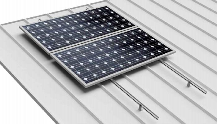 estructura coplanar 03V paneles solares