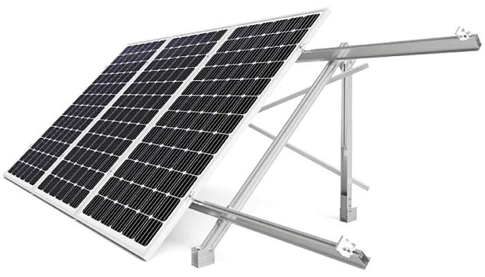 estructura coplanar 14.1V paneles solares