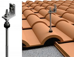 Estructuras coplanares para placas solares o paneles solares